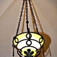 Lampada restaurata