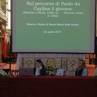 La Dott.ssa Fiorella Frisoni presenta il pittore Paolo da Caylina il giovane