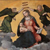 Incoronazione della Madonna delle Grazie (particolare)