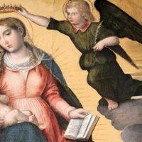 Incoronazione della B. V. Maria delle Grazie, particolare
