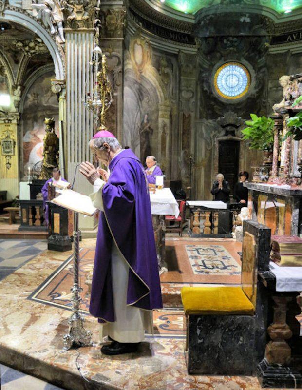 Concelebrazione presieduta dal Vescovo Luciano Monari