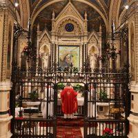 S. Messa presieduta da don Davide, assistente spirituale