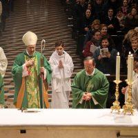 Inizio della solenne Liturgia