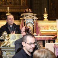Il Rettore del Santuario, don Claudio Zanardini, rivolge il suo saluto