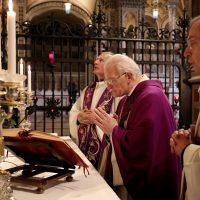 Celebrazione della S. Messa in Santuario