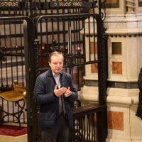 Il Rettore del Santuario parla ai pellegrini
