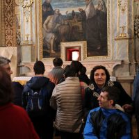 Presso la Reliquia di San Paolo VI