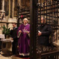 La S. Messa presieduta da don Giuseppe Beretta