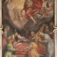 Transito di Maria (volta navata), di Francesco Giugno