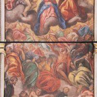 Incoronazione di Maria tra santi (volta navata), di Francesco Giugno