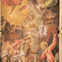 Risurrezione di Gesù (volta navata), di Francesco Giugno