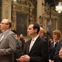 I tre candidati al cammino verso il Diaconato e Presbiterato