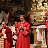 Presiede il Vescovo, Mons. Pierantonio Tremolada