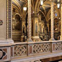 Interno del Santuario - parte inferiore