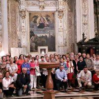 Gruppo di Palosco presso la reliquia del Beato Paolo VI