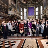 Foto di gruppo al termine della S. Messa