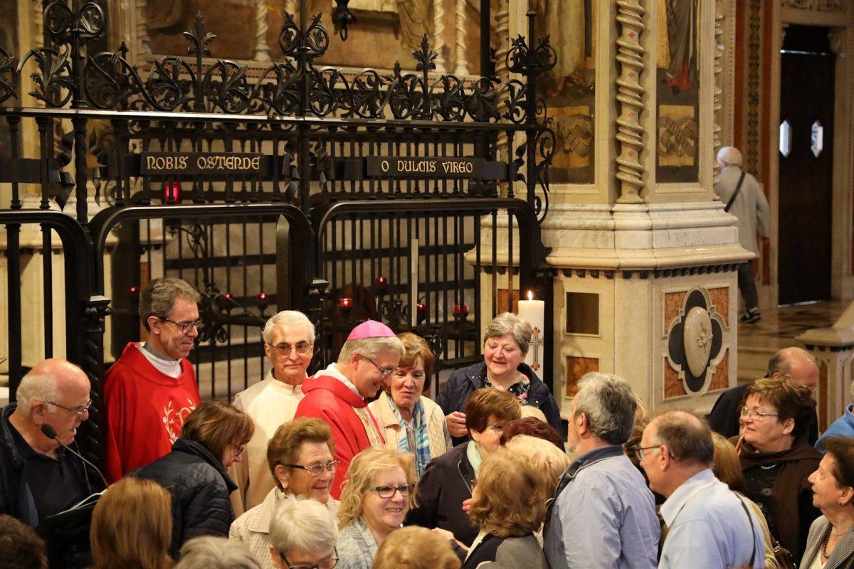 Il Vescovo Luciano presiede la solenne celebrazione