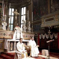 Presiede la celebrazione don Andrea Andretto, assistente spirituale