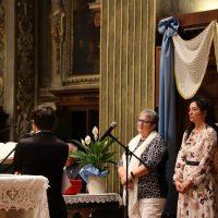 Il rosario trasmesso dalla Basilica delle Grazie
