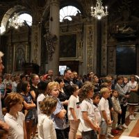 Affidamento dei bambini e ragazzi alla Madonna