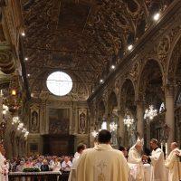 Inizio del Pontificale