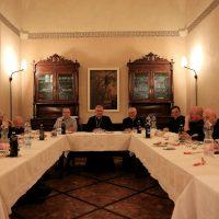 Momento conviviale del Vescovo con i Sacerdoti