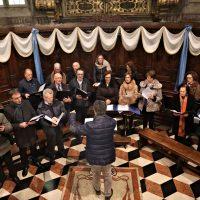 Il coro che ha animato la Liturgia