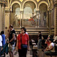 La visita nel Santuario