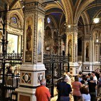 Il momento della Comunione Eucaristica