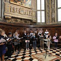 Il coro di Lecco che ha animato la S. Messa