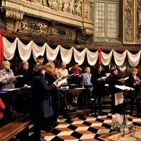 Il coro delle parrocchie di S. Antonio e S. Giacomo