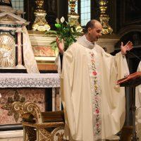 Presiede la concelebrazione don Marcellino Capuccini Belloni