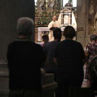 S. Messa celebrata dal Rettore Don Claudio