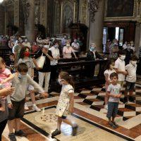 Affidamento a Maria e benedizione dei bambini e ragazzi