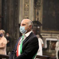 L'assessore Walter Muchetti, rappresentante del Sindaco di Brescia.