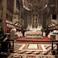 Il Vescovo Pierantonio durante l'omelia