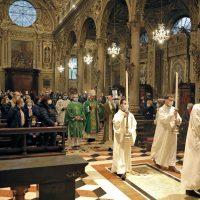 Processione d'inizio della S. Messa