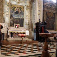 La cappella restaurata in onore di S. Paolo VI