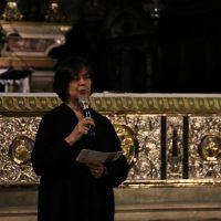 La Direttrice del Coro illustra il programma dedicato alla B.V. Vergine Maria