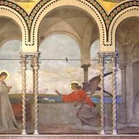 Annunciazione dell'Angelo a Maria, di Modesto Faustini (parete lato est)