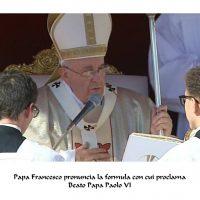 Beatificazione di Papa Paolo VI - prima parte