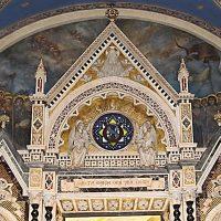 Coro degli Angeli (lunetta sopra l'altare)