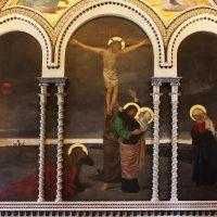 Crocifissione di Gesù, di Cesare Bertolotti (parete lato ovest)
