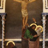 Crocifissione: Maria addolorata (particolare)