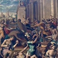 Strage degli Innocenti, di Tiburzio Baldini (controfacciata)