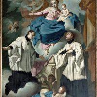 Madonna col Bambino, S. Luigi Gonzaga e S. StanislaoKostka, di Antonio Paglia (3° altare a sinistra)
