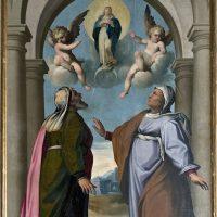 S. Anna, S. Gioacchino e l'Immacolata, di Piermaria Bagnadore ( 4° altare a sinistra)