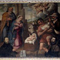 Adorazione dei pastori, di Pier Maria Bagnadore (navata sinistra)