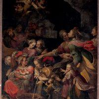 Natività di Maria, di Camillo Procaccini (parete sinistra)