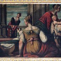 Natività di Maria, di Antonio Gandino (parete sinistra)